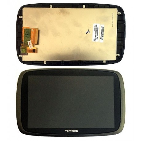 ENSEMBLE NEUF VITRE TACTILE + ECRAN LCD + CADRE TOMTOM GO 600
