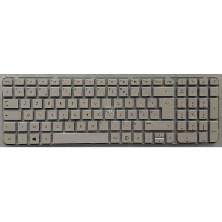CLAVIER AZERTY NEUF HP G6-2000 - 699498-051 - 684689-051 - BLANC - Gar 3 mois - Sans Cadre