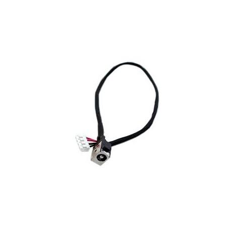 CONNECTEUR DC JACK + CABLE TOSHIBA Satellite P50-A