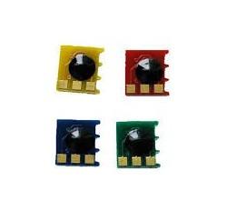 KIT 4 PUCES pour TONER CP1021, M175a - CE310A à CE313A