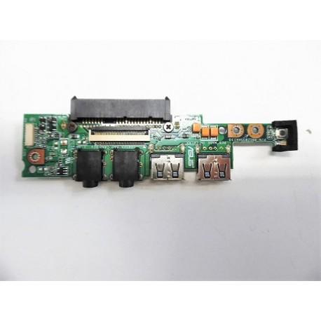 CARTE FILLE Occasion ASUS USB + SON EEEPC 1001, 1005 series - 08G2035HA13Q - Gar 3 mois