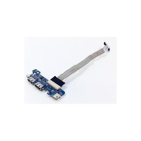 CARTE FILLE USB OCCASION avec nappe Acer aspire 7720, 7720g - 4359FMBOL02 LS-3551P DC02000EF00