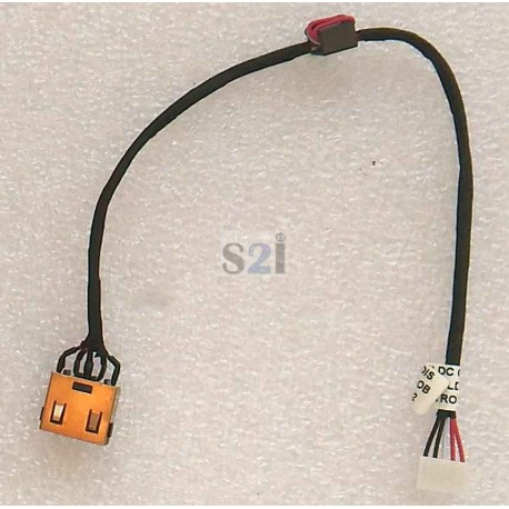 CONNECTEUR DC JACK + CABLE IBM LENOVO G50-30, G50-45, G50-70, G50-80, Z50-70, Z50-75 - Version UMA - 90205113