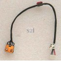 CONNECTEUR DC JACK + CABLE IBM LENOVO G50-30, G50-45, G50-70, G50-80, Z50-70, Z50-75 - Version UMA - 90205113 - DC30100LF00