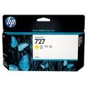 CARTOUCHE JAUNE HP Designjet T1500, T2500, T920 - B3P21A - N°727 - 130ml