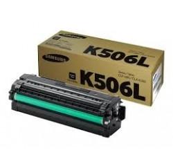 TONER NOIR SAMSUNG CLP 680, CLX 6260 - CLT-K506L - 6000 PAGES
