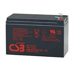 BATTERIE ONDULEUR CSB plomb CSB 12V 7.2Ah - GP1272F2