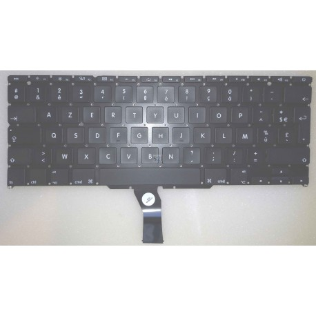 "CLAVIER AZERTY NEUF APPLE Macbook Air A1370 A1465 11.6"" - Noir Gar.3 mois"