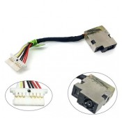 CONNECTEUR DC JACK + CABLE HP CHROMEBOOK - 799735-Y5 808155-013