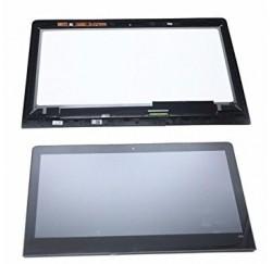 ENSEMBLE VITRE TACTILE + ECRAN LCD + CADRE IBM LENOVO Yoga 900-13isk - 3200x800