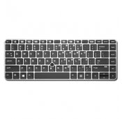 CLAVIER AZERTY NEUF HP EliteBook 745 G4, 840 G4 - Rétroéclairé - 901042-051 903008-051