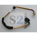 CONNECTEUR DC JACK + CABLE TOSHIBA Qosmio X500, X505 - DD0TZ1AD100 - A000053090