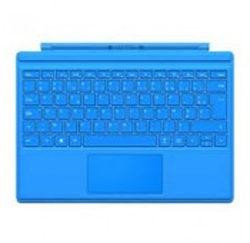 CLAVIER AZERTY NEUF + COQUE Microsoft Surface Pro 3 Bleu Cyan