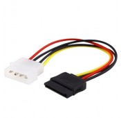 CABLE ALIMENTATION INTERNE MOLEX 4 PIN vers SATA