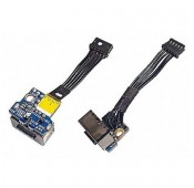 CONNECTEUR DC JACK + CABLE APPLE Macbook A1181 - 820-1966 820-2286-A 922-7580