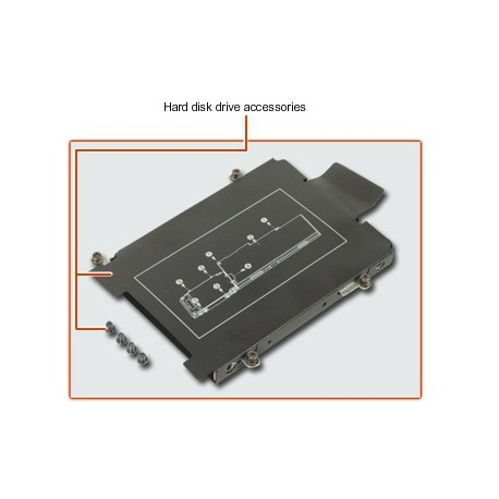 CADDY HDD DISQUE DUR HP EliteBook 725 G3, 745 G3, 755 G3, 820 G3, 840 G3, 850 G3 - 821665-001