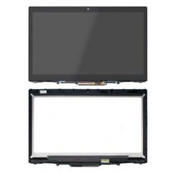 ENSEMBLE VITRE TACTILE + ECRAN LCD + BEZEL Lenovo ThinkPad X1 Yoga 20FQ 20JD 20JF 20LD 20LF 2560x1440