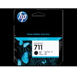 Cartouche d'encre HP 711 DesignJet Série T120 / T520 NOIR 38ml CZ129A