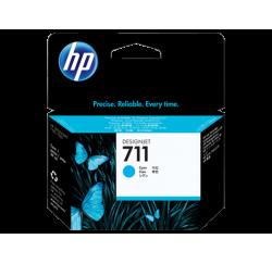 Cartouche d'encre HP 711 DesignJet Série T120 / T520 CYAN 29ml CZ130A