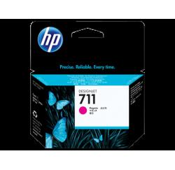 Cartouche d'encre HP 711 DesignJet Série T120 / T520 MAGENTA 38ml CZ131A