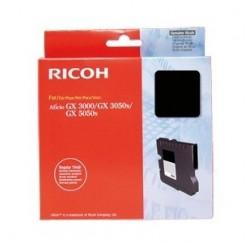 CARTOUCHE RICOH GEL D'ENCRE NOIR AFICIO GX3000, 3050N, GX5050N - 1500 pages - GC-21K - 405532