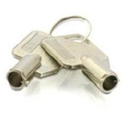 CLES pour RACKH HDD QNAP 45007-002703-00-RS