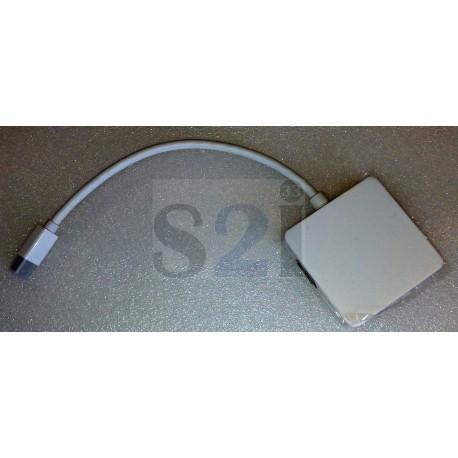 Adaptateur mini display port vers Display port, HDMI, DVI -