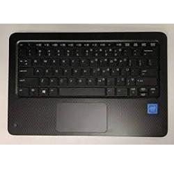 CLAVIER AZERTY NEUF + COQUE HP ProBook x360 11 G1 EE - 918555-051 Gris Fumé