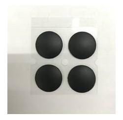KIT 4 PATINS pour COQUE INFERIEURE APPLE Macbook Touch Bar A1707 A1706 A1708