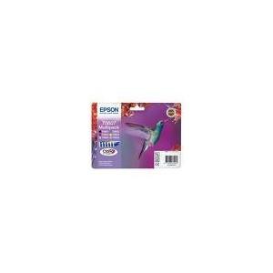 PACK EPSON R265/RX560/RX360 -NOIR/CYAN/MAGENTA/JAUNE/ C.CLAIR/MAG.CLAIR