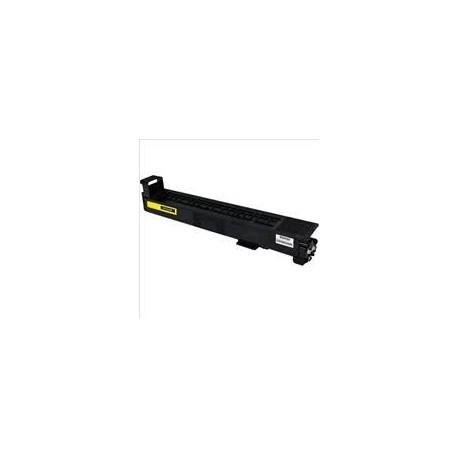 TONER COMPATIBLE JAUNE HP Color LaserJet Enterprise M855dn M855x M855xh - CF312A 31500 Pages - 826A
