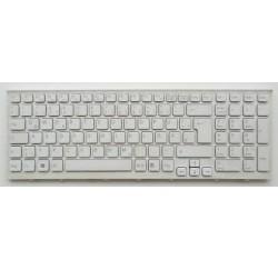 CLAVIER AZERTY OCCASION SONY PCG-61611L PCG-61611LS PCG-61611M - V116646B Blanc