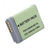 BATTERIE COMPATIBLE CANON Powershot NB-13L 1050mAh 3.6V Gar 1 an