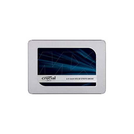 DISQUE DUR SSD CRUCIAL SATA 500GB MX500 - CT500MX500SSD1