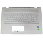CLAVIER AZERTY + COQUE ARGENT HP ENVY 17-AE, 17M-AE - 925477-051