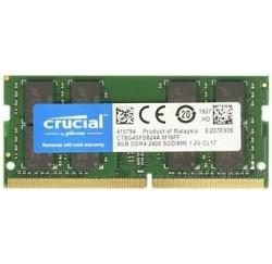 MEMOIRE SODIMM CRUCIAL 8GB DDR4 2400Mhz - CT8G4SFD824A