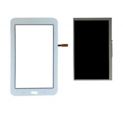 ENSEMBLE ECRAN LCD + VITRE TACTILE SAMSUNG Galaxy Tab 3 Lite SM-T113 - Blanc