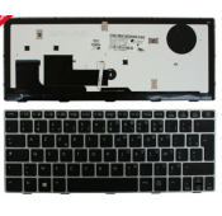 CLAVIER AZERTY RETROECLAIRE HP EliteBook Revolve 810 G3
