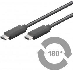 CABLE USB-C vers USB-C 1M - USB3.1 - 930475-001