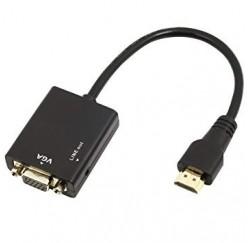 ADAPTATEUR HDMI mâle - VGA femelle