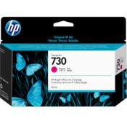 Cartouche Encre Magenta HP designjet T1600 T1700 N°730 130ml P2V63A