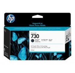 Cartouche Encre Noire HP designjet T1600 T1700 N°730 130ml P2V65A
