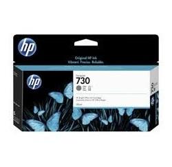 Cartouche Encre Grise HP designjet T1600 T1700 N°730 130ml P2V66A