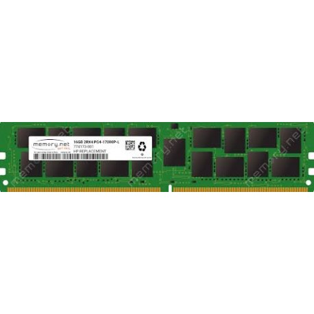 MEMOIRE RECONDITIONNEE HP DDR4-2133 16GB - 726720-B21 774173-001 752371-081
