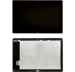 ENSEMBLE VITRE TACTILE + ECRAN LCD TABLETTE HUAWEI MEDIAPAD T5 AGS2-W09 Noir