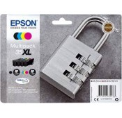PACK CARTOUCHES EPSON WorkForce WF-4720DWF WF-4740DTWF WF-4725DWF - Noir, Cyan, Magenta, Jaune - C13T35964010 35XL