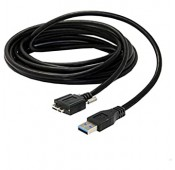 CABLE USB 3.0 A MALE vers USB 3.0 MICRO B MALE + 2 VIS FIXATION M2 - 4.6M