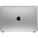 ENSEMBLE VITRE TACTILE + ECRAN LCD + COQUE APPLE MacBook Air 13 A1932 Retina fin 2018 GREY