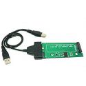 ADAPTATEUR 18 broches vers SATA avec câble USB SATA Compatible SSD Asus UX31 UX21 Taichi 21 Taichi