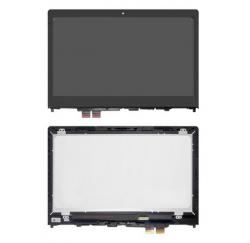 ENSEMBLE VITRE TACTILE + ECRAN LCD + CADRE IBM LENOVO Yoga 510-14ISK, Flex 4-1470 - 1366x768